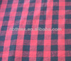 21s 100% cotton fabric yarn dyed plaid fabric for garments shirts