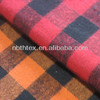 100% Cotton yarn dyed plaid flannel fabric soft feeling for shirt