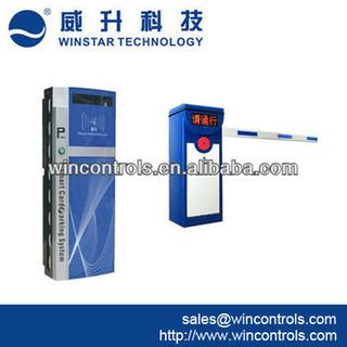 RFID card parking management system