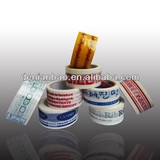 different size customer's printed tape colored tape