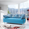 fabric sofa bed soft bed foldable bed S-1019