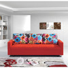 office sofa couch relax chaise sofa bed S-3008