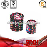 fashion round tin money box