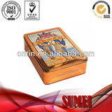 Square tin box packaging box