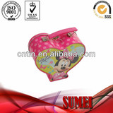 wholesale heart-shaped tin lunch box custom