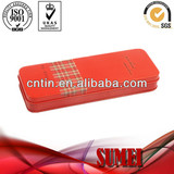 Square tin pencil case sale