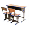 General use commercial furniture school furniture double desk
