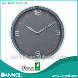 3D Silkscreen 12 Inch Quartz Plastic Wall Clock
