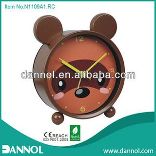 Quartz Metal Table Kids Alarm Clock