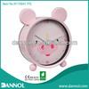 Quartz Metal Table Alarm Clock for Children