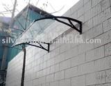 door canopy with aluminum alloy bracket