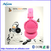 2014 New products wireless bluetooth earphones with tf card player/USB/FM radio