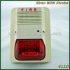 fire alarm sounder with strobe siren