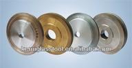 KRT round edge diamond glass grinding wheel