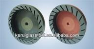 KRT glass resin grinding wheel for beveling edge machine