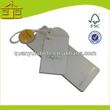 Eco-friendly manufacturer in china garment swing tag