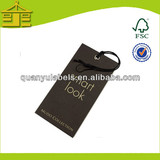 Fancy design garment swing ticket