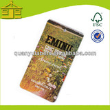 Full color printed paper swing ticket