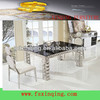 Modern dining room furniture metal dining table-TH338