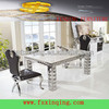 modern dining table marble stainless steel dining table base -TH338