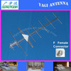 UHF Outdoor Yagi antenna F female connector for HDTV