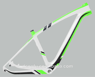 Dengfu 29er MTB carbon frame carbon bicycle frame FM056 available to thru-axle 142*12mm