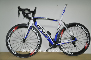Dengfu DIY complete carbon road bicycle with carbon road bike frame FM098 shimano 6770 di2 groupset