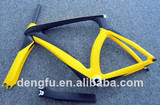 high end chinese carbon fiber time trial bike frame ISP type FM018