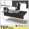 Beautiful Design Ash Veneer Finish Wood Office Desk Design