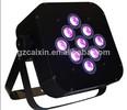 SlimPar 9*10w rgbw 4 in 1 led slim par can dj lights