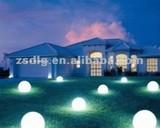 solar led lawn lamp IP68 waterproof garden light with metal soil holder