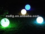 RGB led colorful ball/waterproof led ball light