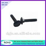 Round head square neck carriage screws