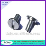 Low-profile Wide Head Slotted Machine Screws