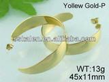 2014 Ear Cuff Gold Earrings Wholesale Ear piercing