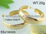 Hot Sale New Gold Earring Design Big Cuff Earrings