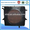 Good quality heavy duty radiator core for construction machine
