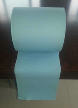 Blue 1 ply hand roll towel