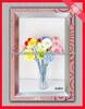 2013 new pink pvc photo frame plastic photo frame wholesale