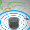 Wireless speed sensor provide speed data for Red Light and Speed Valuation