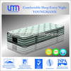 YM-Z22 pocket spring mattress with double pillow top