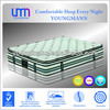 YM-Z88 pocket spring mattress with movable pillow top latex mattress