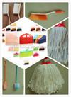 18 broom brush with handle, factory in Foshan