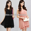 Hot sales women new dresses fashion chiffion dress lovely dress