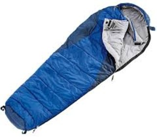 Mummy sleeping bag for cold weather camping and hiking sleeping bag