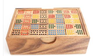 double 15 wood game set