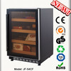 Cooling cigar humidor cabinet cigar humidor Electric holding up to 600 Cigars made in Zhongshan China JF-54CF