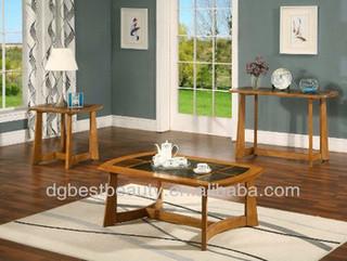 C013B wood coffee table cross leg coffee table stone coffee tables marble top coffee table