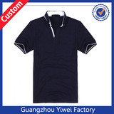 Hot Sale 100% Cotton Factory Price Black Polo Shirt For Men