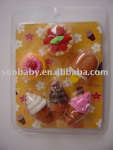 3D Dessert Erasers